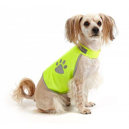 Reflexní vesta pro psy
