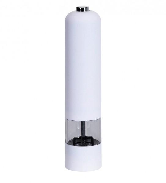 Mlýnek na pepř a sůl elektrický bílá